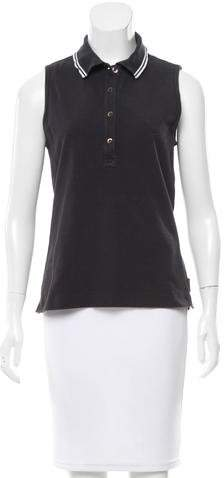 Moncler Moncler Sleeveless Slit-Accented Top