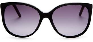 Marc Jacobs Butterfly Cat Eye Sunglasses, 56mm
