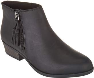 Clarks Collection Leather Booties - Addiy Terri