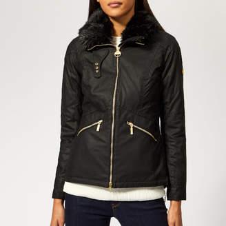 Barbour International Women's Croft Wax Jacket