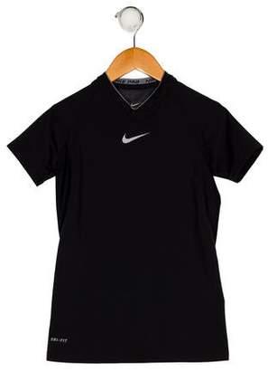 Nike Girls' Short Sleeve Athletic Top