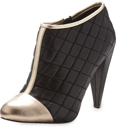 Vince Camuto Amoby Quilted Bootie, Black