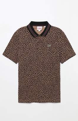 Lacoste Leopard Polo Shirt