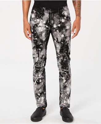 Reason Men's Rhinestone Denim Jeans