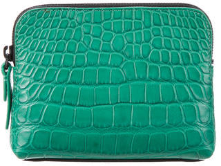 3.1 Phillip Lim3.1 Phillip Lim Embossed Leather Cosmetic Pouch