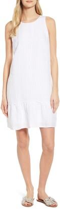 Tommy Bahama Porte Fino Sleeveless Linen Blend Shift Dress
