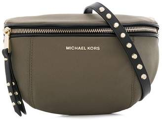 a7622d3d6ac8 MICHAEL Michael Kors studded strap bum bag