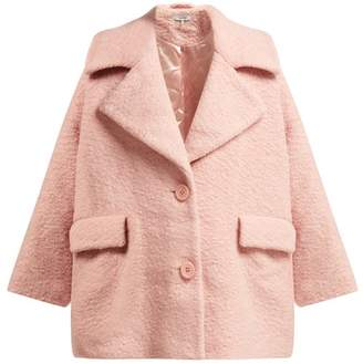 Ganni Fenn Wool Blend Boucle Jacket - Womens - Pink