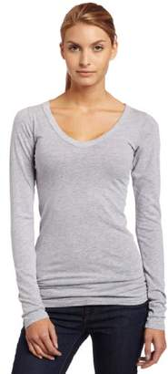 LAmade Women's Fitted V-Neck Tunic Top