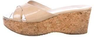 Jimmy Choo Prima Platform Slide Sandals