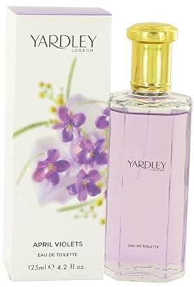 Yardley London YardleyLondon April Violets by Eau De Toilette Spray 4.2 oz