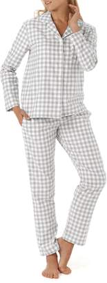The White Company Gingham Check Pajamas