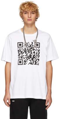 Vetements White QR Code T-Shirt