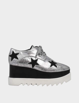 Stella McCartney Elyse lace ups with stars