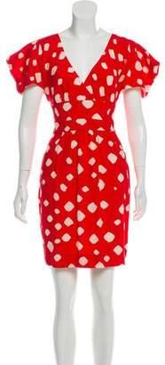 Leifsdottir Printed Mini Dress