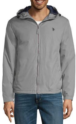 U.S. Polo Assn. Color Block Midweight Windbreaker Jacket