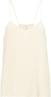 Vix Dana silk crepe de chine top $126 thestylecure.com