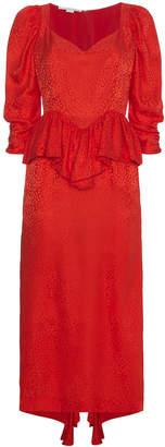 Stella McCartney Silk Angela Leopard Dress