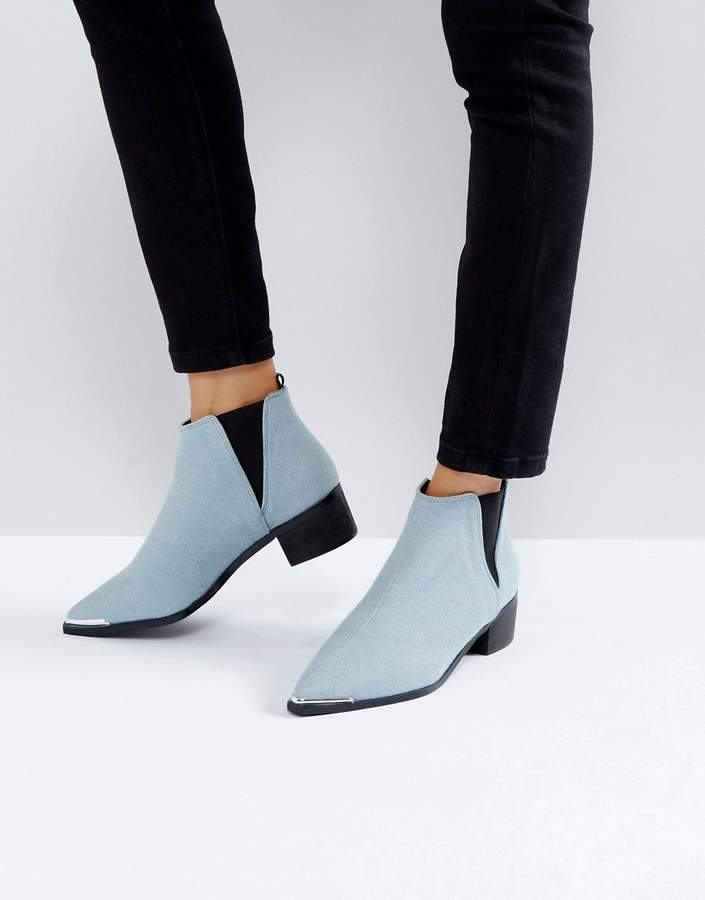 ASOS ADMISSION Pointed Ankle Boots