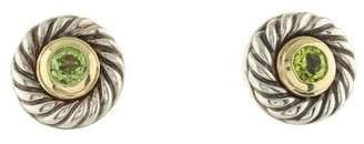 David Yurman Peridot Classics Earrings