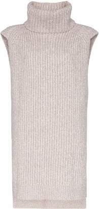 See by Chloe turtleneck sleeveless knit jumper