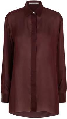 The Row Big Sisea Silk Shirt