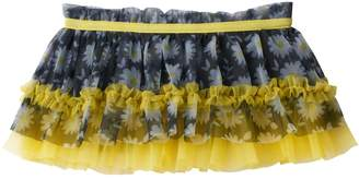 Baby Starters Baby Girl Floral Tiered Tulle Skirt