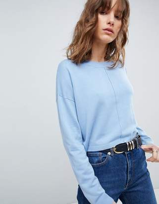 Asos DESIGN oversized sweater with seam detail