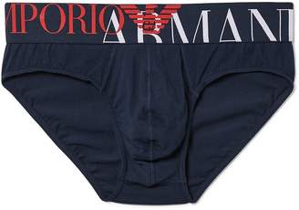 Emporio Armani Mega Logo Briefs