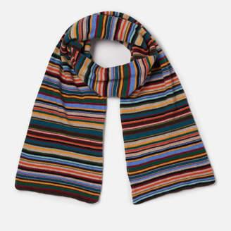 Paul Smith Men's Stripe Scarf - Multi