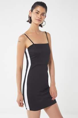Motel Peyas Side-Stripe Mini Dress
