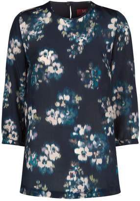 Max Mara Floral Silk Blouse