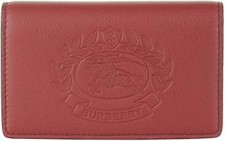 Burberry Leather Logo Wallet