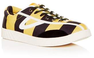 Tretorn Men's NY Lite Striped Lace Up Sneakers