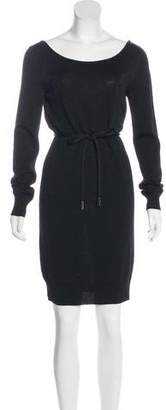 Dolce & Gabbana Metallic Mini Dress
