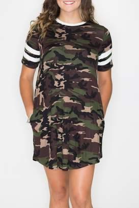 Cherish Camo Swing Dress
