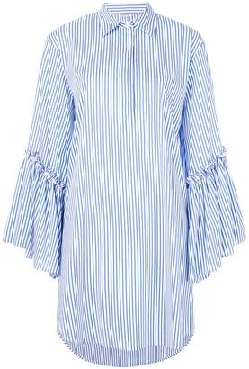 P.A.R.O.S.H. ruffle sleeved shirt dress