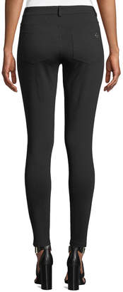MICHAEL Michael Kors Mid-Rise Skinny Denim Leggings