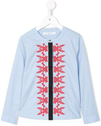 Givenchy Kids embroidered shirt