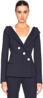 Mugler Tailored Twill Jacket $2,360 thestylecure.com