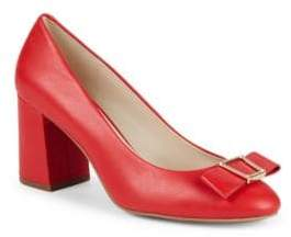 Cole Haan Emory Bow Block Heel Pumps