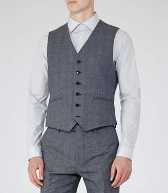 Reiss Morrow W Mottled Wool Waistcoat