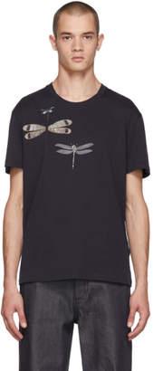 Valentino Navy Dragon Fly T-Shirt