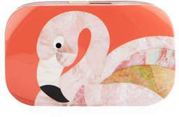 Rafe Kiki Flamingo Minaudiere, Pink