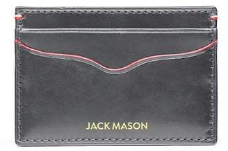 JACK MASON Grey Vacchetta Lux Leather Cord Case