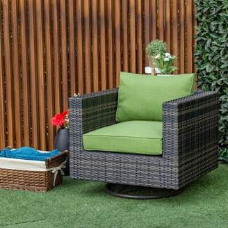 Sol 72 Outdoor Barwick Swivel Patio Chair with Cushion Sol 72 Outdoor