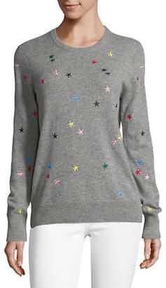 Equipment Shane Crew Star Cashmere Sweater