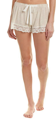 Flora Nikrooz Knit Short With Lace