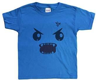 Gildan Boys 4-20 Rawr Monster Face Funny Youth T-Shirt
