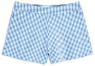 AQUA Girls' Gingham Shorts, Big Kid - 100% Exclusive $48 thestylecure.com